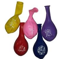 Pandoli Happy New Year Baskılı Latex Balon 25 Adet
