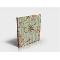Arte80 - Vintage Butterfly - Kanvas Tablo Saat