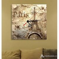 Eyfel Kulesi Paris Tablo Saat