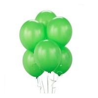 Metalik Yeşil Balon 25 Adet
