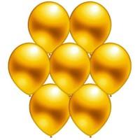 Parti Paketi Altın Metalik Balon 25'Li
