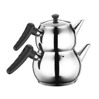 Hascevher Buse Mini Siyah Çaydanlık