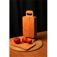 Evino Bambu Kesme Tahtası - Standlı