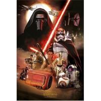 Pyramid International Maxi Poster Star Wars Ep7 Montage