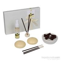 Hepsi Dahice Aroma Diffuser Set 2'Li Mum Tütsü Vanilla