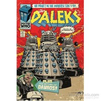 Maxi Poster Doctor Who The Daleks Comic