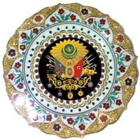 Bk Osmanlı Armalı Tabak