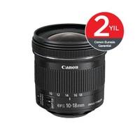 Canon EF-S 10-18MM F4.5-5.6 IS STM Objektif