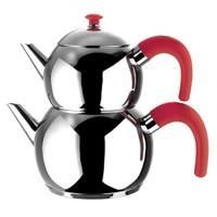 Emsan Tombo Çaydanlık Takımı - Kırmızı