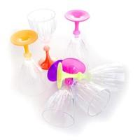 Joy Glass 6 Lı Dıamond Ayak Fosforlu Opak Boyalı Kadeh