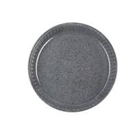 Paşabahçe Borcam Granit - Yuvarlak Koyu Gri - 32 Cm