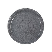 Paşabahçe Borcam Granit - Yuvarlak Koyu Gri - 26 Cm