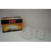 Fidex Home Termisil Cam Sütlük Ve Şekerlik 2Li Set