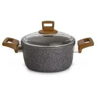 Karaca Silver Stone Bio Granit Tencere 24 Cm