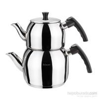 Hisar Marsilya Çaydanlık Takımı Büyük Siyah