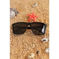 Morvizyon Clariss Marka Siyah Çerçeveli Yeni Trend Unisex Güneş Gözlük Modeli
