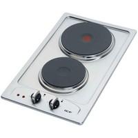 ICF 2717/522 2 Gözü Elektrikli Paslanmaz Çelik Domino Ocak