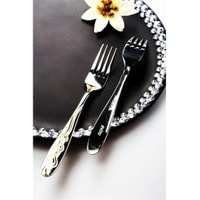 Evino 6'Lı Yemek Çatalı - Paslanmaz Çelik