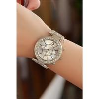 Morvizyon Clariss Marka Gri Renk Tasarımlı Bayan Saat