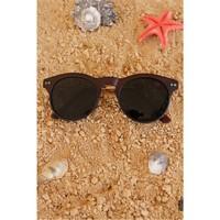 Morvizyon Clariss Marka Kahverengi Renk Çerçeve Tasarımlı Bayan Gözlük