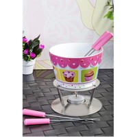 Royal Windsor Cup Cake Model Porselen Metal Standli Fondü Seti