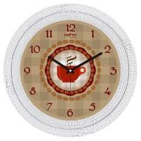 Cadran Luxury Dekoratif Çatlak Desen Duvar Saati-77