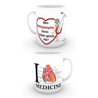 Love Medicine Hemşire Kupa