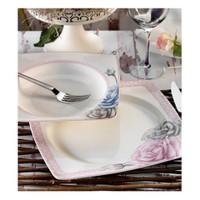 Aryıldız Prestige Porselen 70008 29 Parça Kare Yemek Takımı
