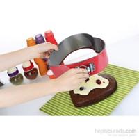 Bien Cook Çelik Teflon Kelepçeli 3 Lü Kek Kalıbı