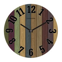 Clockmaker By Cadran 30X30 Mdf Duvar Saati Cmm11