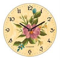 Clockmaker By Cadran 30X30 Mdf Duvar Saati Cmm112