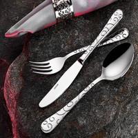 İnter Çelik 60 Prç. Hanzade Model Yemek Kaşık Çatal Takımı