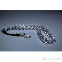 Yörem Kristal Kuvars Taşı Tesbih 10 mm Faset Kesim
