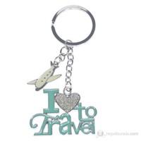 Nektar C007585 I Love Travel Anahtarlık