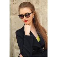 Morvizyon Clariss Marka Siyah Mat Tasarım Bayan Gözlük