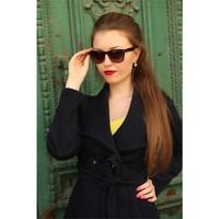 Morvizyon Clariss Marka Yeni Sezon Geniş Çerçeve Tasarımlı Bayan Gözlük