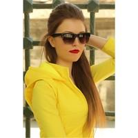 Morvizyon Clariss Marka Mat Tasarımlı Yarım Çerçeveli Bayan Gözlük
