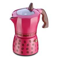 Gat Coffee Show Moka Makinası 3 Kişilik Pembe