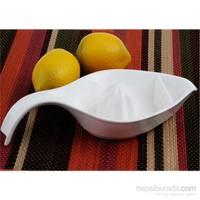iHouse 5784 Seramik Limon Sıkacağı Beyaz