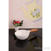 Royal Windsor Bambu Saplı Lüx Porselen Sosluk - 23 Cm