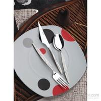 Yetkin Zümrüt 12 Adet Yemek Bıçağı - Saten