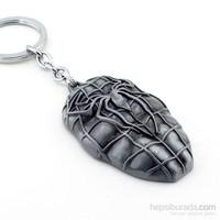 Solfera Spider Man Kabartmalı Metal Anahtarlık Kc438