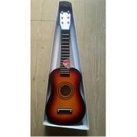 Çocuk Gitarı Ahşap Kırmızı U202-Rd
