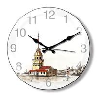 Clocktime By Cadran Dekoratif Bombeli Cam Duvar Saati Ct14