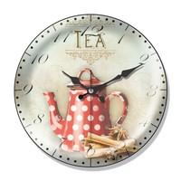 Clocktime By Cadran Dekoratif Bombeli Cam Duvar Saati Ct32