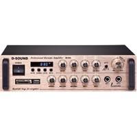 D-Sound 37664 Pa-200 Mixer Amplifier