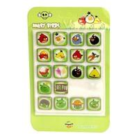 Buffer Angry Birds Buzdolabı Magnetleri (18 Adet)