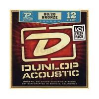 Jim Dunlop Dab 12-54 Light 80/20 Bronz Akustik Gitar Tel Seti