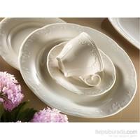 Kütahya Porselen Caprice Krem 6 Kişilik Çay Takımı