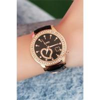 Morvizyon Clariss Marka Çatlak Deri Tasarımlı Bayan Saat